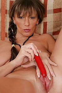Mature Woman with toys